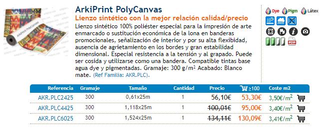 Arkiprint Polycanvas