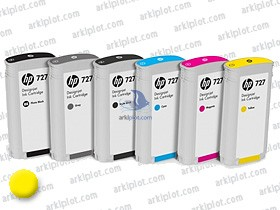 HP Nº727 amarillo 130ml.