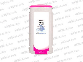 Tinta compatible HP Nº72 magenta 130ml.