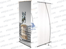 Expositores y Display - L-Banner