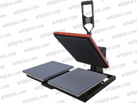 ArkiPress HP8E-D 40x50cm Auto Open doble plato